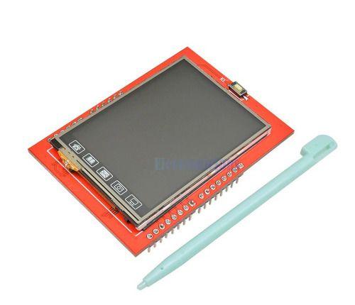 Display Lcd 2.4 Pol 240x320 Micro Sd Ili 9341 Touch Arduino