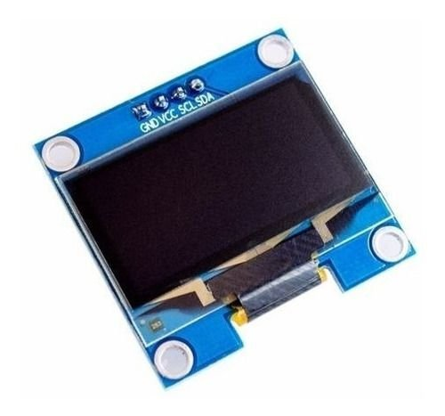 Display Oled Serial 0.96 128x64 I2c Azul P/ Arduino
