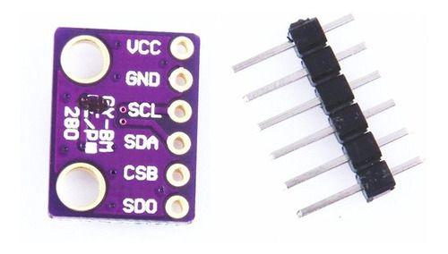 Módulo Sensor Bme280 Pressão Temperatura E Umidade