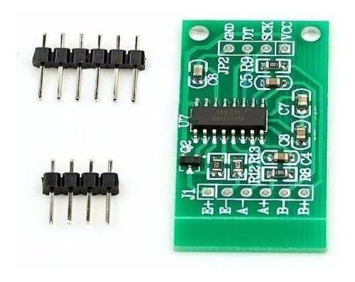 Sensor Carga Hx711 24bits Célula Peso Balança Arduino