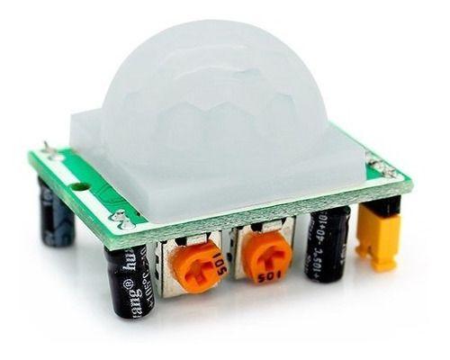 Módulo Sensor Presença Movimento Pir Hc-sr501 Arduino