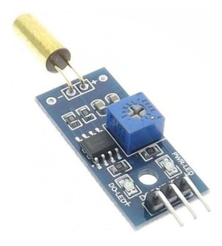 Módulo Sensor De Vibração Inclinação Sw-520d 1canal Arduino