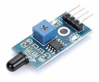Módulo Sensor De Chama Fogo Arduino