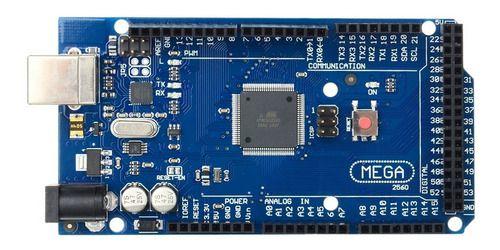 Placa Mega 2560 Compativel C/ Atmega2560-16au 16au