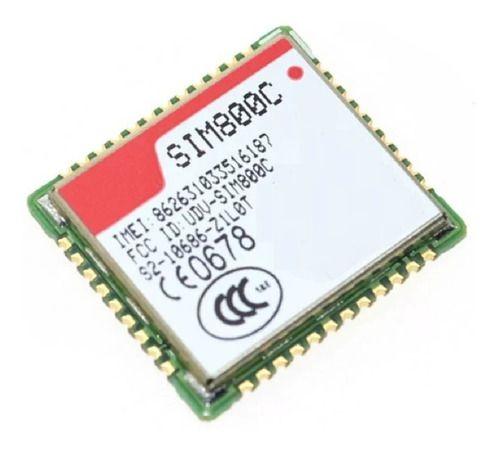 Sim800c Quad Band Pacote De Voz Sms Gprs