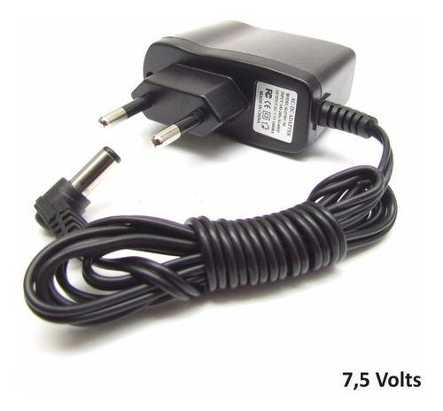 Fonte Alimentação 7,5v 1a Bivolt Jack P4 P/ Arduino