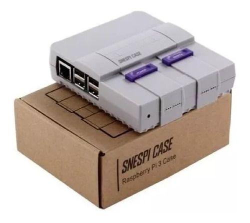 Case Snespi Super Nintendo C/ Cooler Raspberry Pi 3