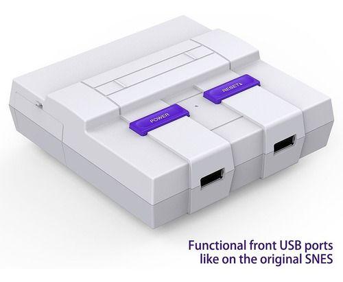 Case Snespi Super Nintendo C/ Cooler Circuito Raspberry Pi 3