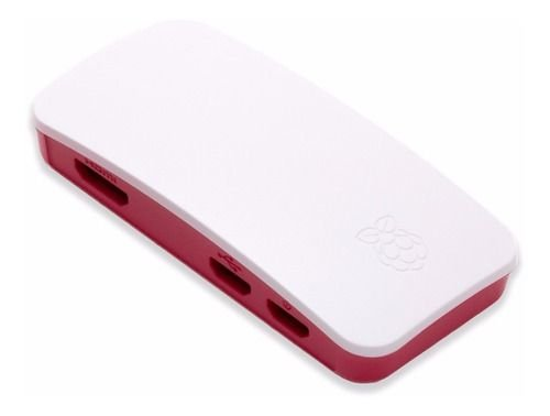 Case P/ Raspberry Pi Zero / Zero W Oficial C/ Cabo Flex