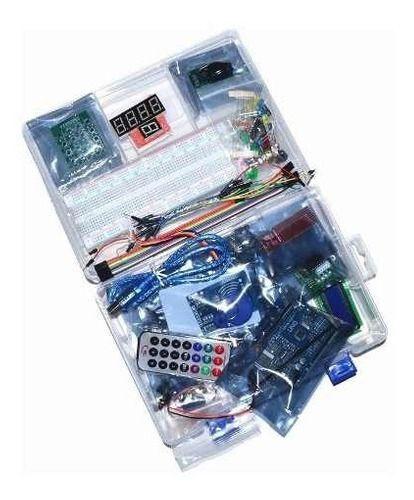 Kit Starter Automação C/ Placa Uno R3 Smd C/ Estojo