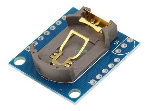 Módulo Rtc Tempo Real Ds1307 Eeprom At24c32 I2c Arduino