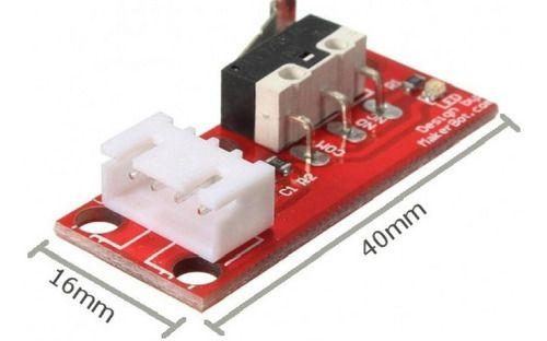 Chave Fim De Curso Impressora 3d Cnc Ramps Endstop Arduino
