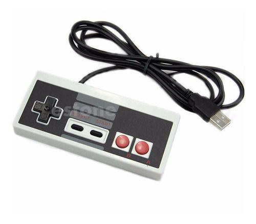 Controle Joystick Nes Nintendo 8bits Usb P/ Pc Raspberry