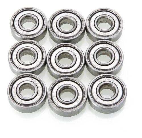 10 Peças Rolamento 608zz Liso Abec1 8x22x7 Em Aço