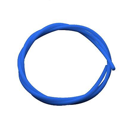 Tubo Ptfe Teflon 2x4mm Filamento 1,75mm 1m Azul