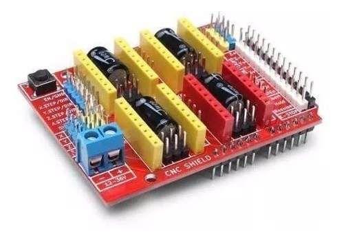 Shield V3 Cnc Impressora 3d Reprap Grbl Arduino