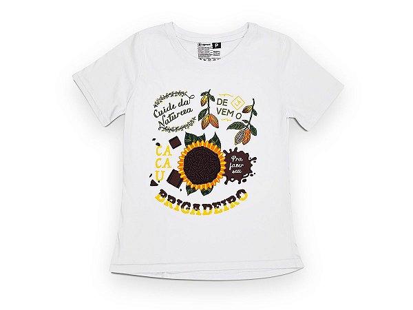 Camiseta Sustentável - Babylook Brigadeiro