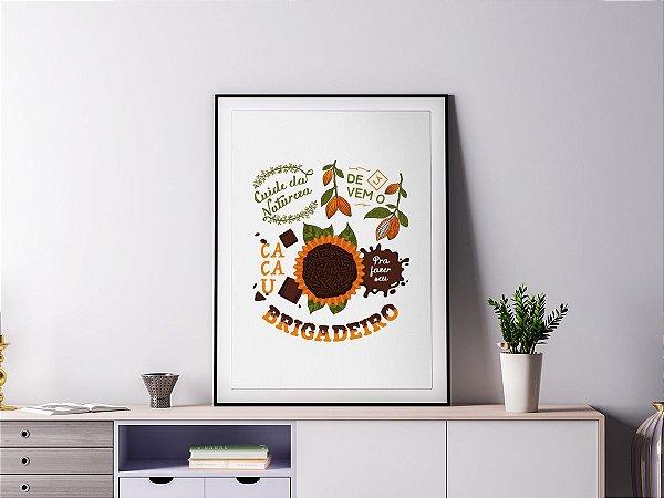 Poster Quadro Decorativo - Brigadeiro