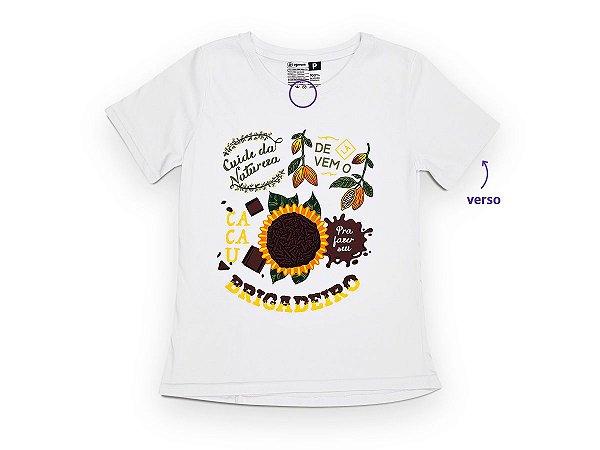 Camiseta Sustentável - Babylook Brigadeiro 01 (BAZAR)