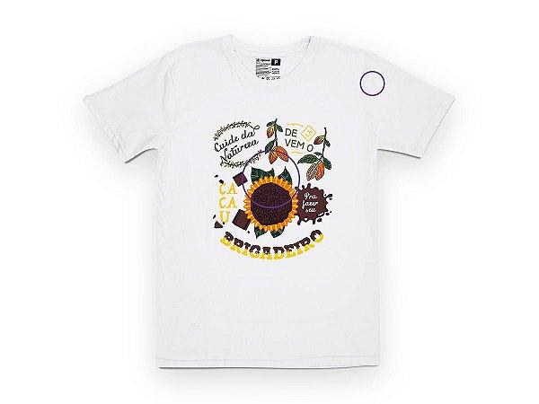 Camiseta Sustentável - Unissex Brigadeiro 01 (BAZAR)
