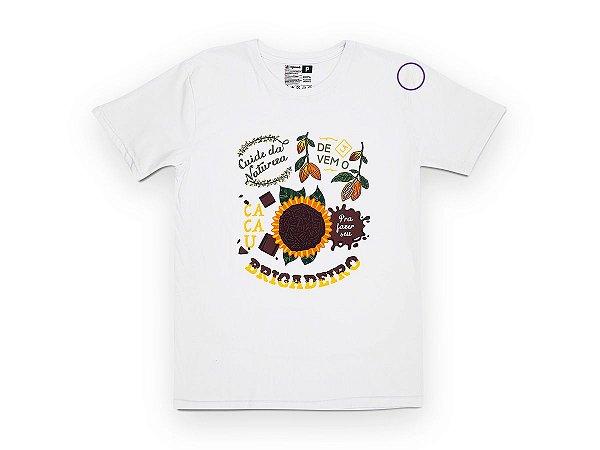 Camiseta Sustentável - Unissex Brigadeiro 04 (BAZAR)