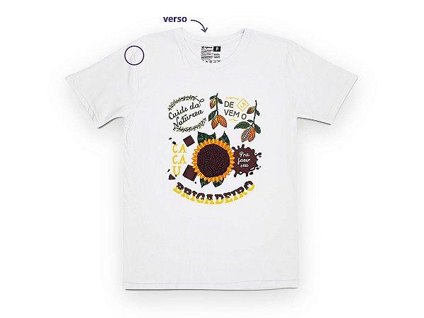 Camiseta Sustentável - Unissex Brigadeiro 05 (BAZAR)