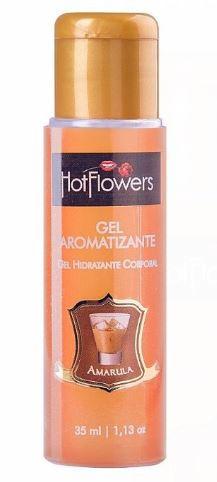 Gel Aromatizante Hot 35 ml - Hot Flowers   Sabor: Amarula