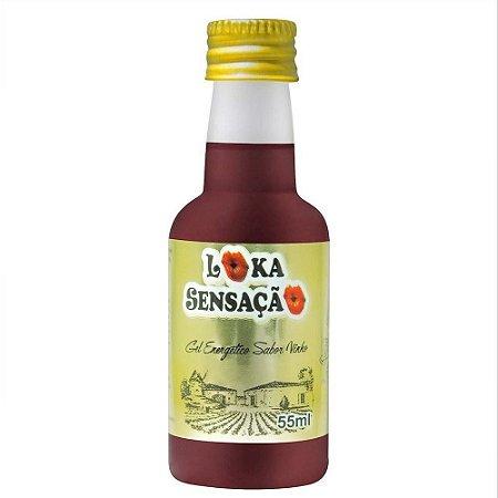 Gel Comestível Adega do Amor 55 ml - Loka Sensação   Sabor: Vinho