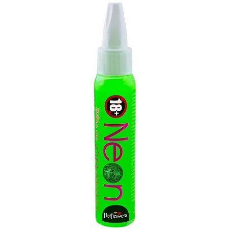Caneta Comestível Neon 32 g - Hot Flowers | Sabor: Menta