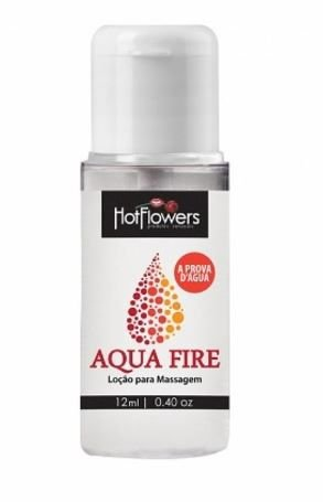 Lubrificante Aqua Fire à Prova d'Água 12 ml - Hot Flowers