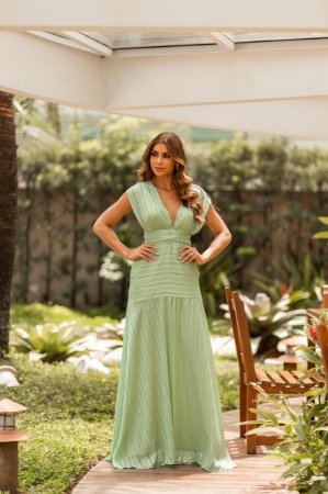 Vestido multiformas em cetim