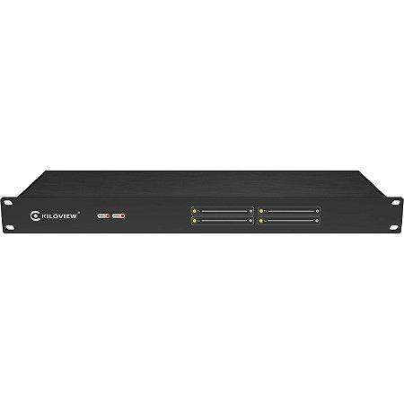 Kiloview 1U 4-Channel Redudant Power Rackmount Unit