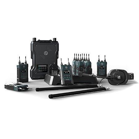 Hollyland Solidcom M1 Full-Duplex Wireless Intercom Solution (8 Beltpacks)