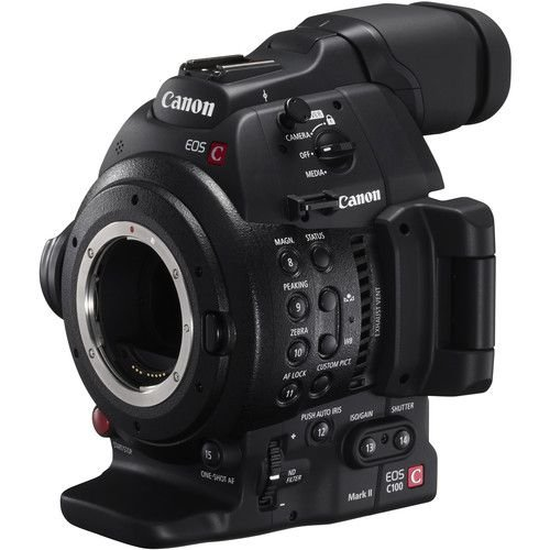 Canon EOS C100 Mark II Cinema EOS Camera