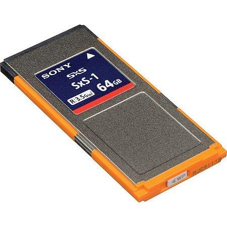 Sony 64GB SxS-1 Cartão de Memória