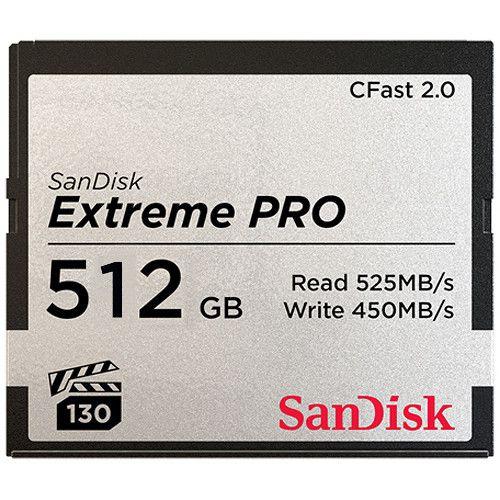 SanDisk 512GB Extreme PRO CFast 2.0