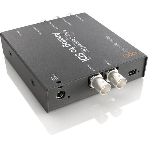 Blackmagic Design Mini Converter Analog para SDI