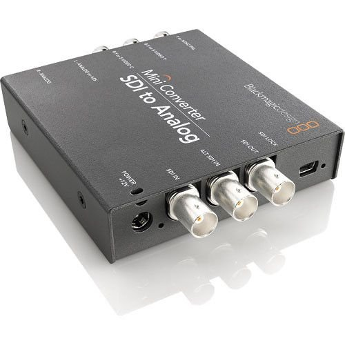 Blackmagic Design Mini Converter SDI para Analog