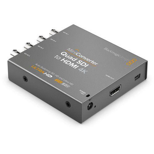 Blackmagic Design Mini Converter Quad SDI para HDMI 4K