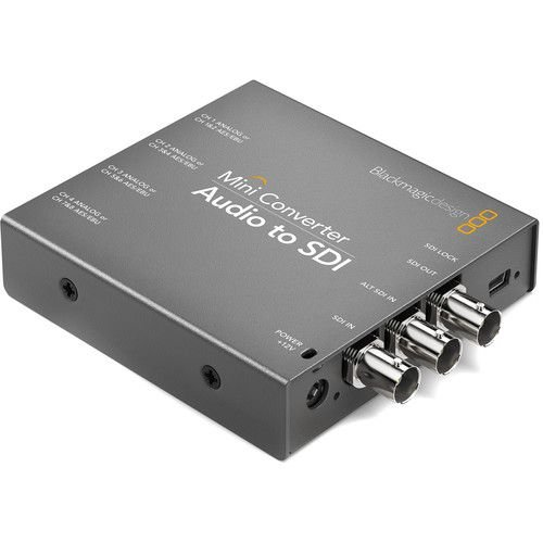 Blackmagic Design Mini Converter Audio para SDI