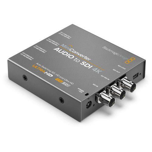 Blackmagic Design Mini Converter Audio para SDI 4K
