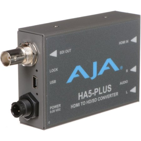 AJA HA5-Plus HDMI para 3G-SDI Mini Conversor