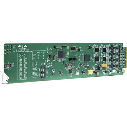 AJA OG-3G-AM Embedder/Disembedder AES 3G-SDI de 8 canais
