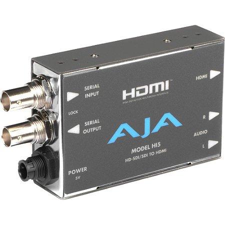 Conversor de Vídeo e Áudio AJA Hi5