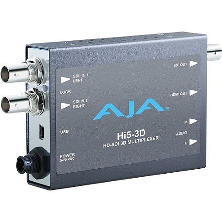 Mini-Conversor AJA Hi5-3D Dual HD-SDI para HDMI 3D