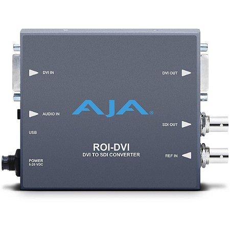 Mini Conversor AJA ROI DVI para SDI