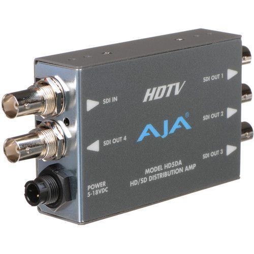 HD5DA Amplificador/Repetidor de Distribuição HD/SD-SDI 1x4