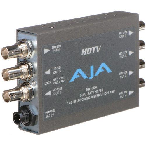 HD10DA Amplificador de Distribuição HD/SD-SDI 1x6
