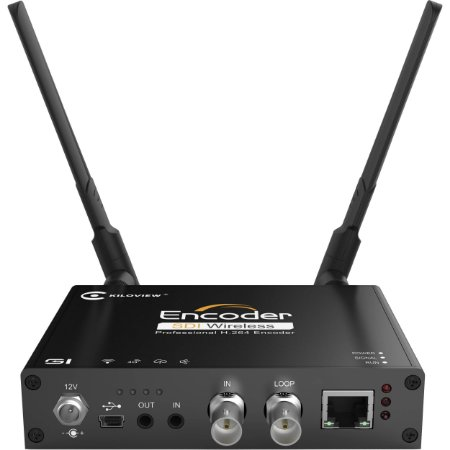 Kiloview G1 HD/3G-SDI para RTSP Wi-Fi Video Encoder