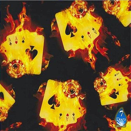 Cartas em chamas